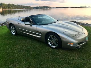 Used 2001 Chevrolet Corvette Convertible With Only 48500 km spectacular cond for sale in Perth, ON