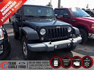 Used 2014 Jeep Wrangler Jeep Wrangler Sport, 4x4 2014 for sale in Gatineau, QC