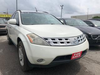 Used 2004 Nissan Murano SL for sale in Pickering, ON