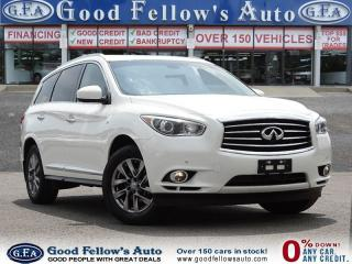 Used 2015 Infiniti QX60 PREMIUM, AWD, 7 PASSENGER, LEATHER SEATS, SUNROOF for sale in North York, ON