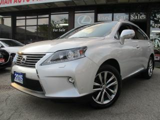 Used 2015 Lexus RX Sportdesign-NAV-LTHER-CAM-ROOF-HEATED-BLUETOO for sale in Scarborough, ON