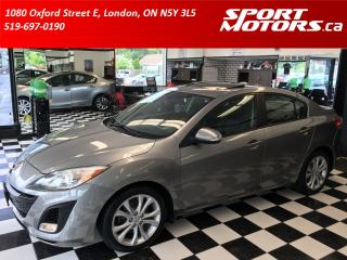 Used 2010 Mazda MAZDA3 GT+GPS+Bluetooth+Heated Seats+New Tires & Brakes! for sale in London, ON