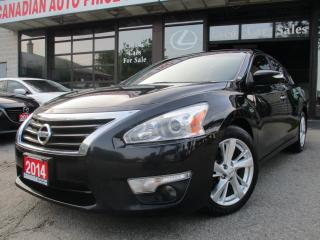 Used 2014 Nissan Altima 2.5 SL-NAV-LTHER-CAMERA-ROOF-BLUETOOTH-HEATED for sale in Scarborough, ON