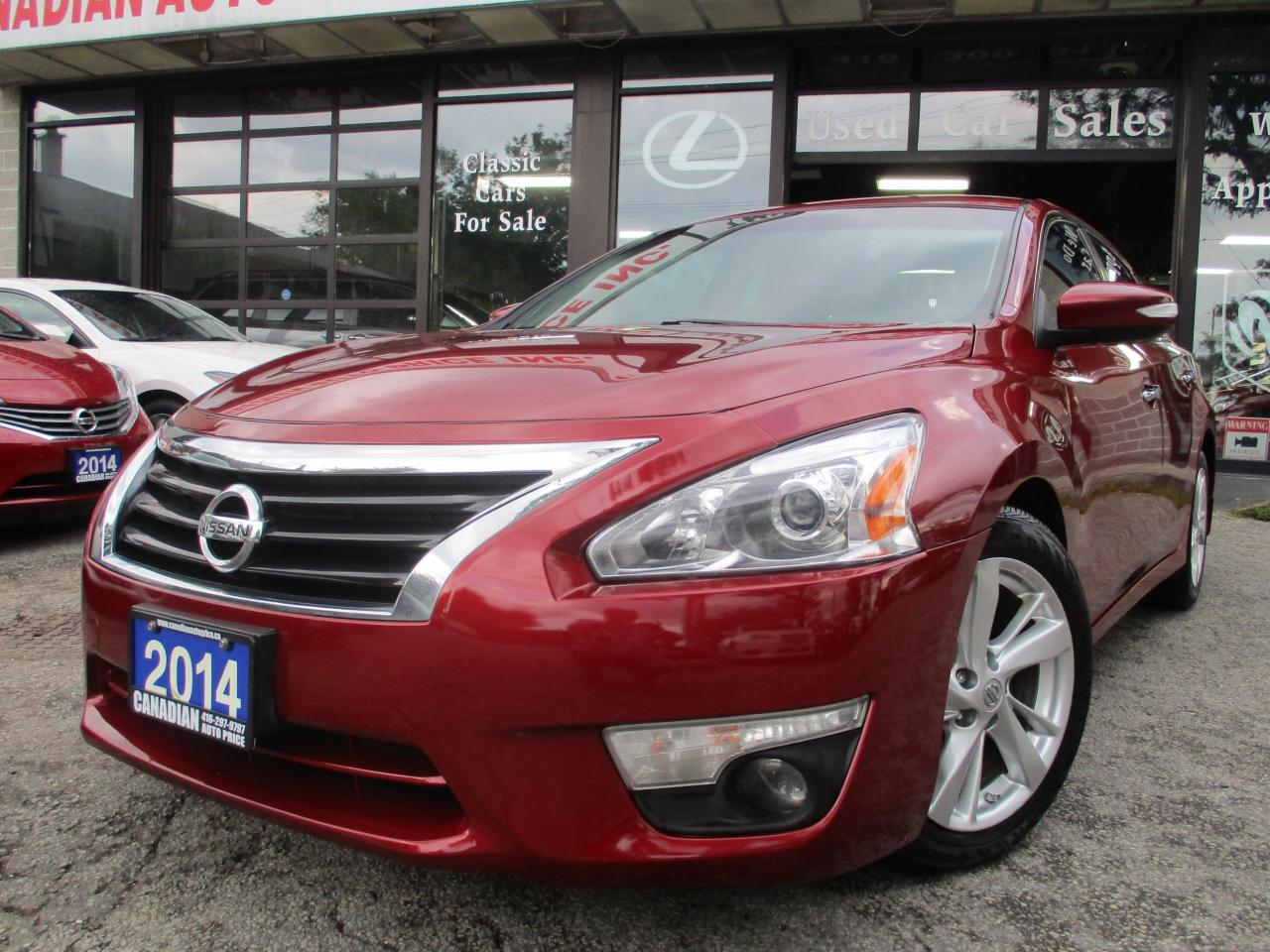 2014 Nissan Altima 2.5 SL-NAV-LTHER-CAMERA-ROOF-BLUETOOTH-HEATED