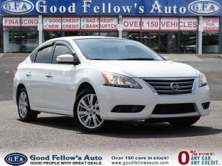 Used 2013 Nissan Sentra SL MODEL, LEATHER SEATS, SUNROOF, REARVIEW CAMERA for sale in North York, ON
