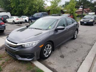Used 2016 Honda Civic LX for sale in Toronto, ON