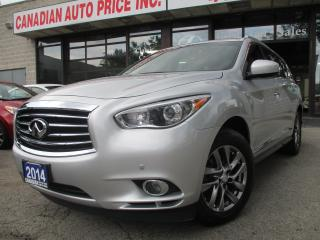 Used 2014 Infiniti QX60 AWD-NAV-LTHER-PANO-ROOF-360CAMERA-7 PASS for sale in Scarborough, ON