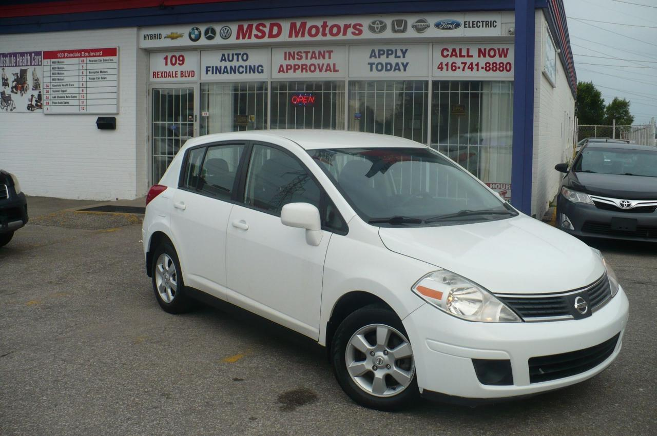 2009 Nissan Versa 1.8 SL   LOW  KM