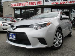 Used 2014 Toyota Corolla LE-CAMERA-HEATED SEAT-BLUETOOTH for sale in Scarborough, ON