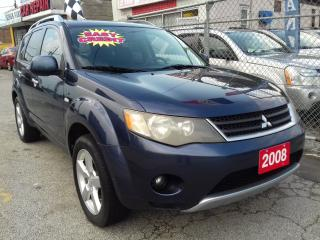 Used 2008 Mitsubishi Outlander XLS - 159 KM - EXTRA CLEAN for sale in Scarborough, ON