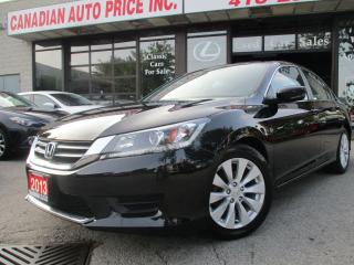 Used 2013 Honda Accord BACK UP CAMERA-HEATED SEAT-BLUETOOTH-ALLOYS for sale in Scarborough, ON