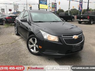 Used 2011 Chevrolet Cruze LTZ Turbo   LEATHER   ROOF   HEATED SEATS for sale in London, ON