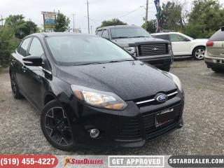 Used 2012 Ford Focus Titanium   LEATHER   ROOF for sale in London, ON
