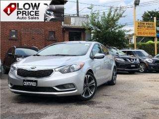 Used 2015 Kia Forte 2.0L SX*Leather*Sunroof*Navi*Camera*FullLoad* for sale in York, ON