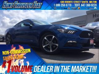 Used 2017 Ford Mustang V6/CAMERA/AUTO/RMT STRT/PUSH BUTTON & MORE for sale in Milton, ON