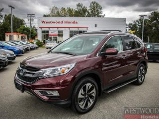 Used 2016 Honda CR-V Touring , Factory Warrenty Until 2023 for sale in Port Moody, BC