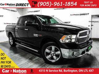 Used 2017 RAM 1500 Big Horn| ECO DIESEL| NAV-READY| BACK UP CAMERA| for sale in Burlington, ON