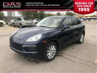 Used 2011 Porsche Cayenne PREMIUM/LEATHER/V6 for sale in North York, ON