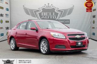 Used 2013 Chevrolet Malibu LT ECO, BLUETOOTH, CRUISE CONTROL, PWR SEATS for sale in Toronto, ON