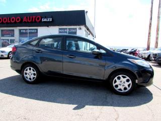 Used 2011 Ford Fiesta S Sedan 5 SPEED MANUAL CERTIFIED 2YR WARRANTY for sale in Milton, ON