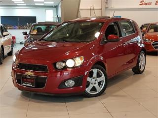 Used 2015 Chevrolet Sonic LT-AUTO-SUNROOF-CAMERA-BLUETOOTH-ONLY 81KM for sale in Toronto, ON
