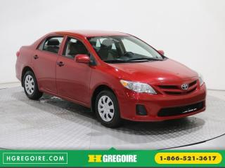 Used 2013 Toyota Corolla CE for sale in Saint-leonard, QC
