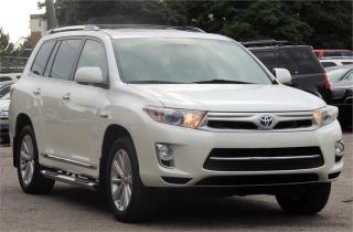 Used 2011 Toyota Highlander Hybrid Limited for sale in Etobicoke, ON