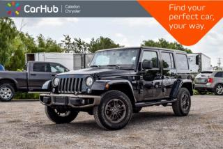 Used 2017 Jeep Wrangler Unlimited Sahara|75th Anniversary|4x4|Navi|Bluetooth|Heated Front Seats|R-Start|17