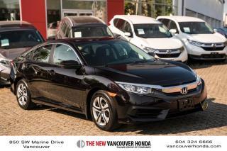 Used 2016 Honda Civic Sedan LX CVT for sale in Vancouver, BC