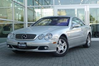 Used 2005 Mercedes-Benz CL500 Rare! *Clean* for sale in Vancouver, BC