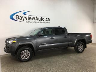 Used 2018 Toyota Tacoma SR5 - CREW! HITCH! HTD SEATS! LDA! REV CAM! BLUETOOTH! for sale in Belleville, ON
