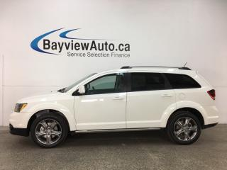 Used 2017 Dodge Journey Crossroad - 7 PASS! SUNROOF! DVD! NAV! REVERSE CAM! U-CONNECT! for sale in Belleville, ON