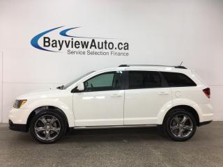 Used 2017 Dodge Journey Crossroad - 7 PASS! SUNROOF! DVD! NAV! REVERSE CAM! 3 ZONE CLIMATE! for sale in Belleville, ON