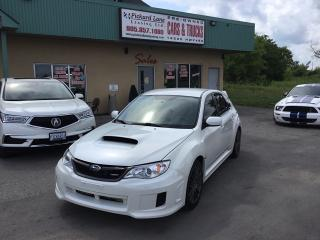 Used 2012 Subaru WRX Limited SYMMETRICAL AWD, 265 HP, BLUETOOTH, 17