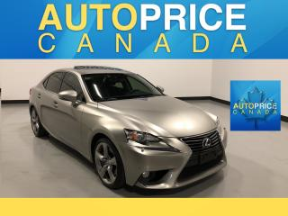 Used 2014 Lexus IS 350 MOONROOF|NAVIGATION|LEATHER for sale in Mississauga, ON