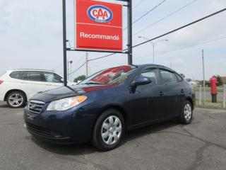 Used 2009 Hyundai Elantra GL for sale in Pintendre, QC