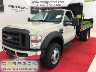 Used 2010 Ford F-550 Xl V8 Diesel + Benne for sale in Cowansville, QC