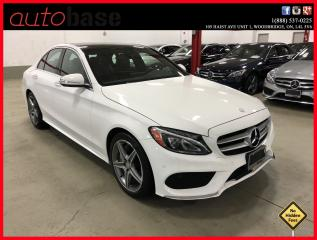 Used 2015 Mercedes-Benz C-Class C300 4MATIC PREMIUM PLUS SPORT LONG WARRANTY... for sale in Woodbridge, ON