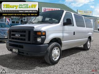 Used 2013 Ford Econoline XLT. 8 SEATER VAN. for sale in Tilbury, ON