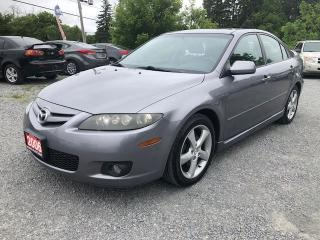 Used 2006 Mazda MAZDA6 GT LEATHER SUNROOF for sale in Gormley, ON