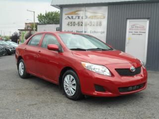 Used 2009 Toyota Corolla ***CE,BAS KILO,AIR CLIMATISE*** for sale in Longueuil, QC