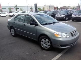 Used 2004 Toyota Corolla Ce B Pkg A/c Ce B for sale in Lachine, QC