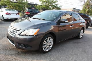 Used 2015 Nissan Sentra SL | LEATHER | SUNROOF | NAVI | PUSH START for sale in North York, ON