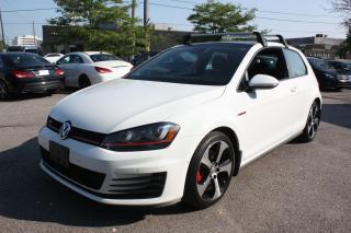 Used 2016 Volkswagen GTI 3 DOOR | NAVI | SUNROOF | BACKUP CAMERA for sale in North York, ON