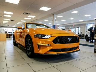New 2019 Ford Mustang GT PREMIUM Convertible! 400a pkg, NAV, 10spd Auto, Blade Decklid Spoiler, Leather Bucket Seats, Reverse Camera, 5.0L V8 POWER!! for sale in Edmonton, AB