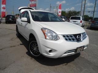 Used 2013 Nissan Rogue ONE OWNER,BLUETOOTH,AUX SAFETY,CRUISE CONTROL,NO for sale in Oakville, ON