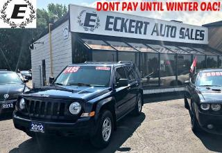 Used 2012 Jeep Patriot SPORT MANUAL WITH LEATHER for sale in Barrie, ON