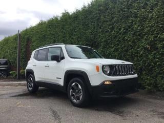New 2018 Jeep Renegade Sport + BACK-UP CAMERA for sale in Surrey, BC