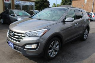 Used 2014 Hyundai Santa Fe LIMITED for sale in Brampton, ON