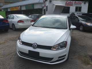 Used 2015 Volkswagen Golf Trendline TSI/Leather Seats/Backup Camera for sale in Scarborough, ON